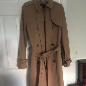 Zara basic belted trench coat